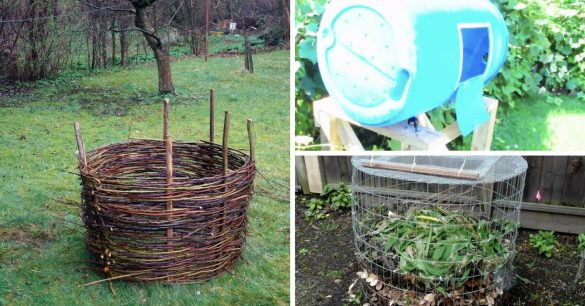 Build your own DIY compost bin